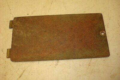 1966 Oliver 1550 Gas Tractor Battery Box Lid