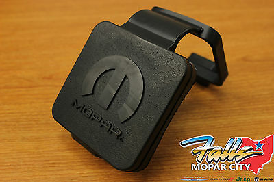 Mopar Ram Chrysler Jeep Dodge 2 Inch Rubber Hitch Receiver Plug Cover