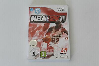 Nintendo Wii Wii U Spiel NBA 2K11 gebraucht kaufen  Mühlhausen