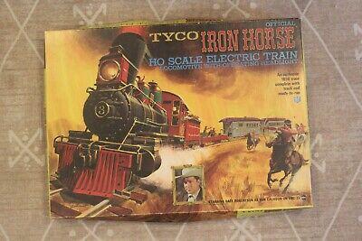 TYCO Iron Horse HO Train Set Vintage 1960's Tested