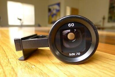 HASSELBLAD MK-70 60mm VIEWFINDER EXCELLENT++ RARE PROVENANCE MINT GLASS