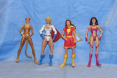 DC Universe Power Girl Mary Marvel Cheetah Star Sapphire Wonder Woman Figure - Star Girl Dc