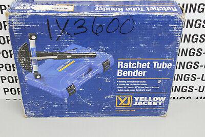 Yellow Jacket Ratchet Tube Bender Sizes 14 To 78 60331 Free Shipping
