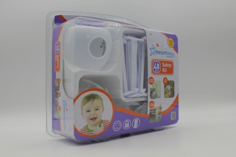 Dreambaby Dream Baby 48 Piece Safety Kit Kid Proofing Great Baby Shower Gift!