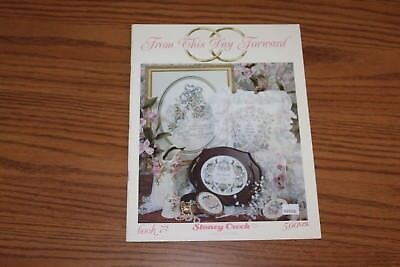 From This Day Forward Book Pattern Cross Stitch Wedding Stoney Creek 72