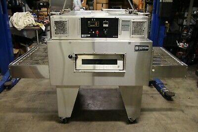 Doyon Fc2g Gas Jet-air Single Stack Conveyor Pizza Oven