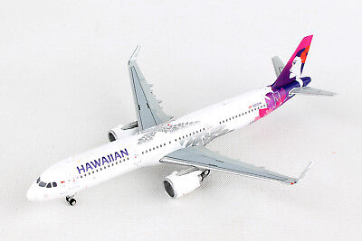Gemini Jets Hawaiian Airlines Airbus A321neo Gjhal1653 1 400 Reg  N202ha  New