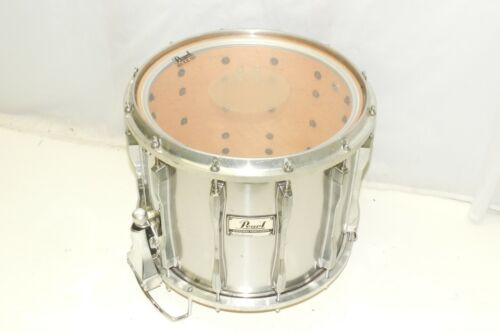 """Pearl 14"""" High Tension Marching Band Snare Drum Chrome Wrap"""