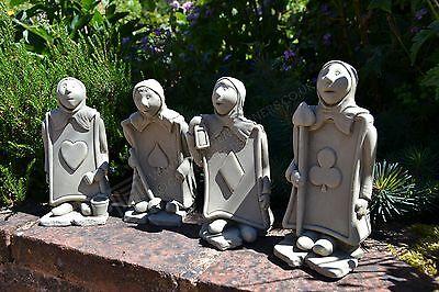 The Trumps Alice's Adventures in Wonderland/Garden Ornament/Sculpture/Stone