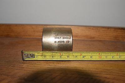 "Bost Bronze Bushing B-2026-12 ID 1-1/4"" OD 1-5/8"" Length 1-1/2"""
