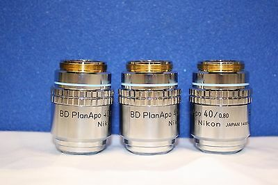 High Quality Nikon Bd Plan Apo 40 0.80 Microscope Objective