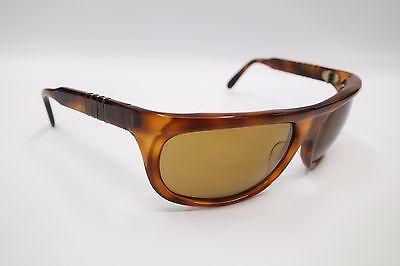 RARE Vintage PERSOL RATTI 69600/60 Tortoise Brown Wrap Sunglasses 3913
