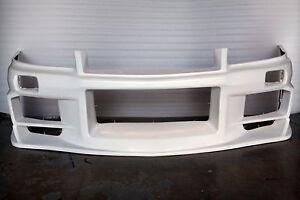 NISSAN SKYLINE R34 GT-T DO-LUCK FRONT BUMPER SPOILER FOR GTT RB25 COUPE / 4 DOOR