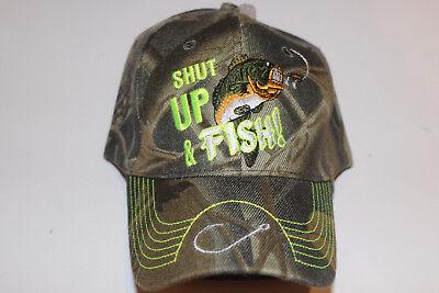 Anglerkappe Cap Kappe Mütze Camouflage Fishing Angler Mütze Angeln # 87