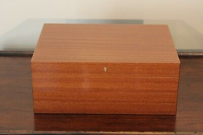Savinelli 1876 Large Brown Wood Humidor Made in Italy