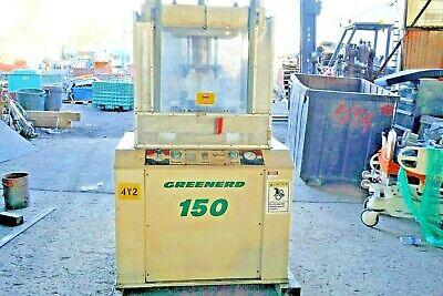 Greenerd 150 Ton Hydraulic Press Heavy Duty 4 Post Model Cpa 150 Hydrolair