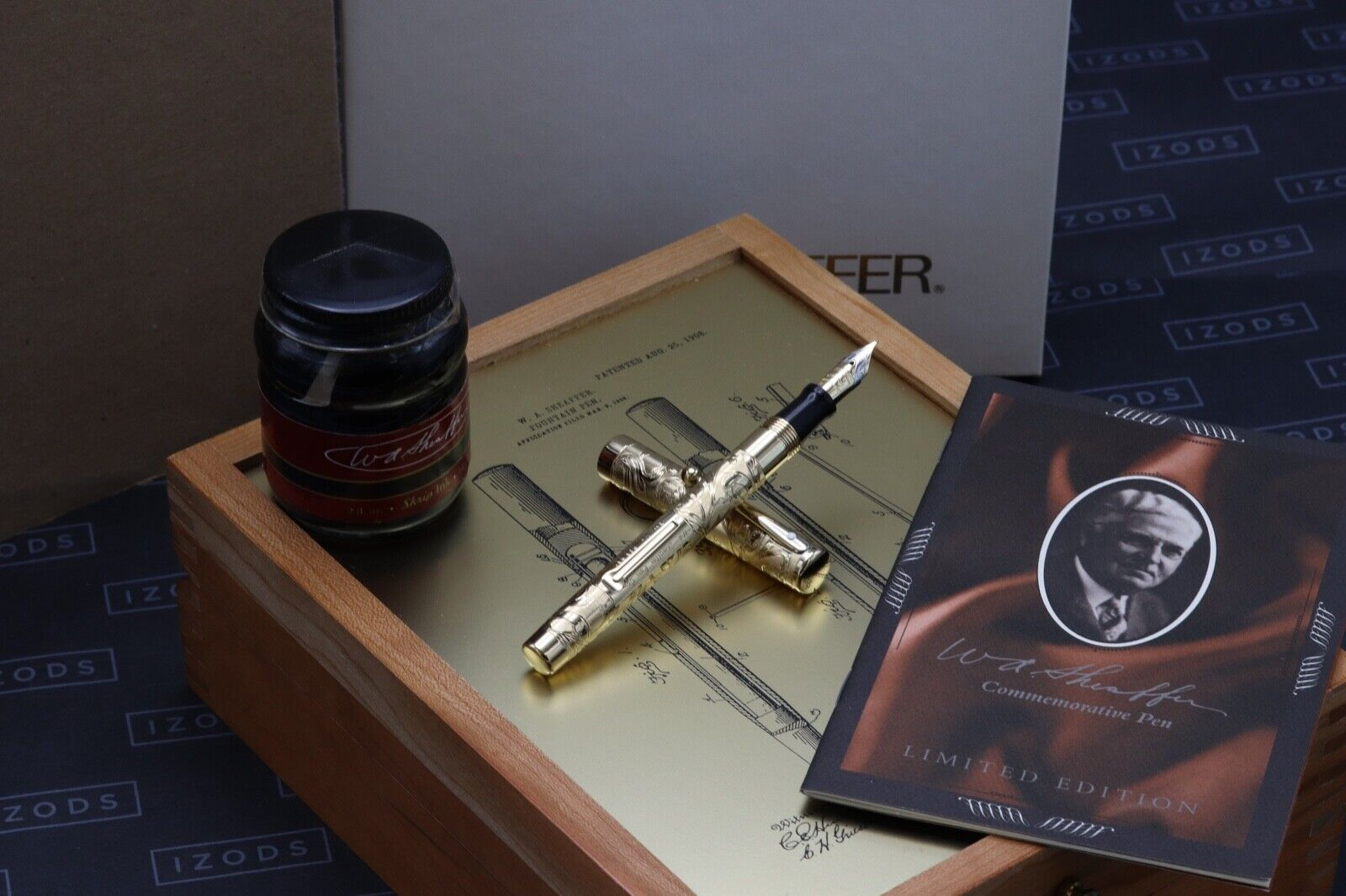 W.A Sheaffer Commemorative LE Lever Fill Fountain Pen - Fully Serviced July 21