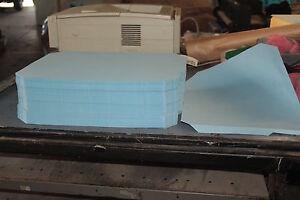 Letterpress Printing. 50 Heidelberg Windmill Platen Tympan Sheets.