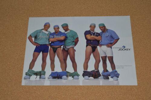 1997 Print ad Jockey underwear boxers Los Angeles County doctors surgeons men