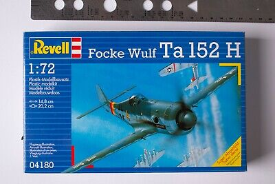 REVELL FOCKE WULF TA 152 H Model Kit 04180 SCALE 1:72