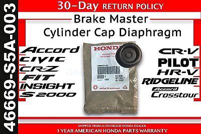 (Genuine OEM Honda Brake Master Cylinder Cap Diaphragm Spacer     (46669-S5A-003))