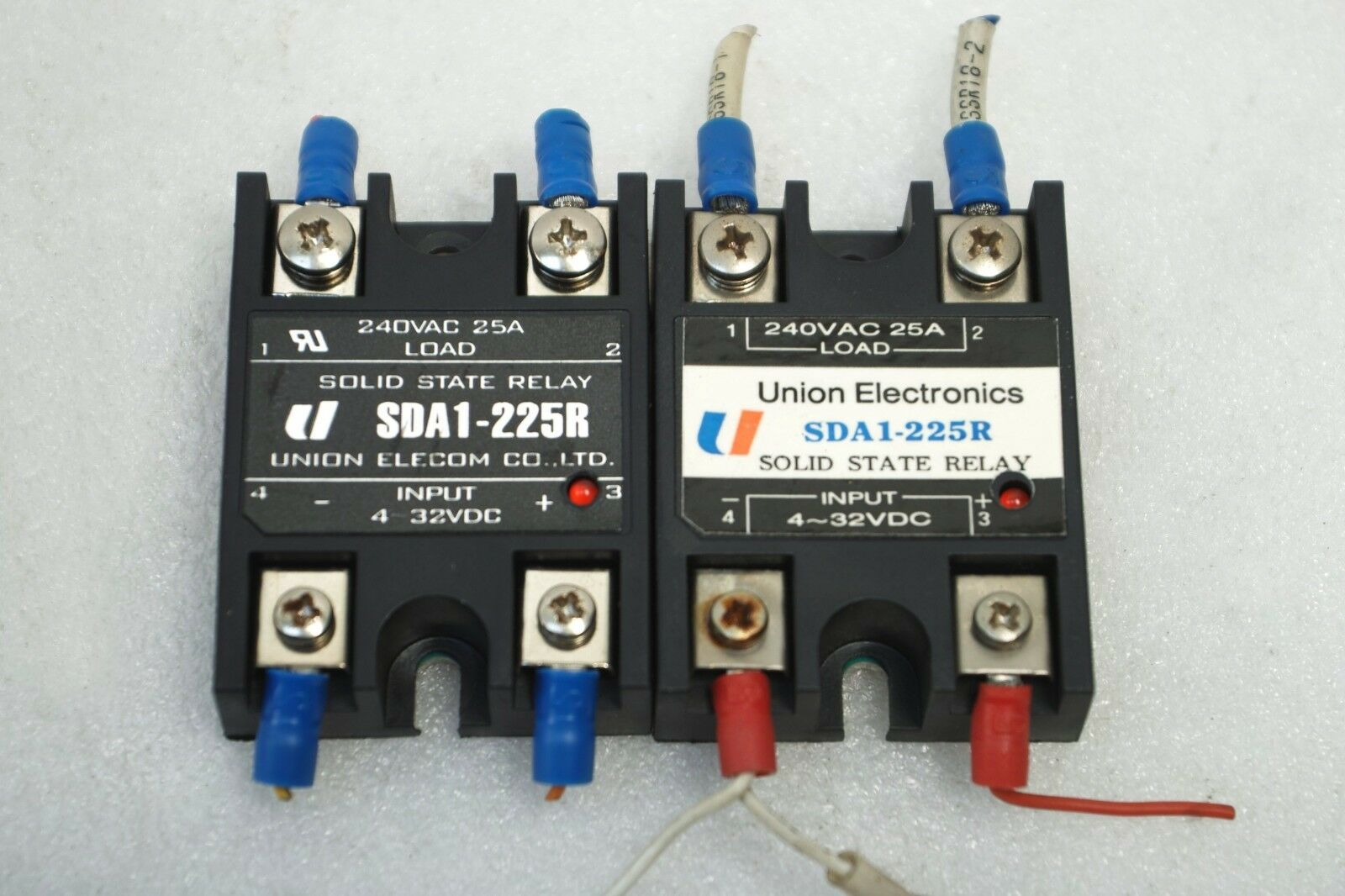 Union Electronics Solid State Relay Sda1 225r Lot Of 2 Kyotto Item Number 282247196433