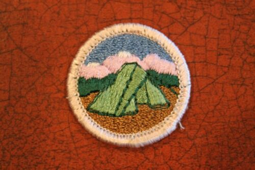 """BSA """"CAMPING"""" MERIT BADGE - OFFICIAL BOY SCOUTS"""