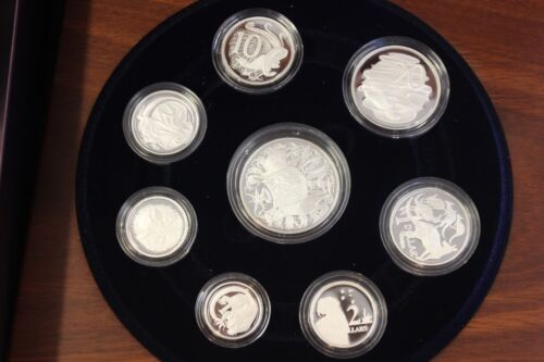 2006 Australia Proof Fine Silver Set Original Box and CoA