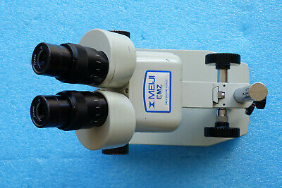 Meiji Emz Stereo Zoom Microscope With Swf10x Eyepieces.