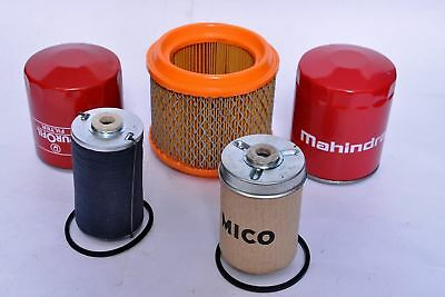 Mahindra Tractor Filter Economy Pack Of 5 For E-350 3505 C4005 4505 5005