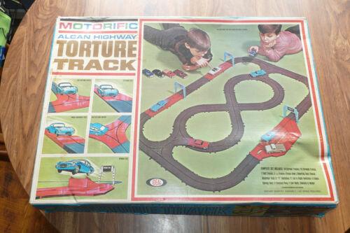 Vintage Ideal Motorific ALCAN Torture Track