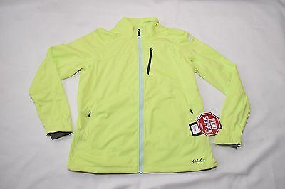 Cabela's XPG™ Women's Soft-Shell Jacket with WindStopper Neon Green  Neon Soft Shell