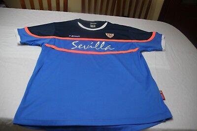CAMISETA DE FUTBOL DEL SEVILLA FC DE LA MARCA JOMA TALLA L MUY COTIZADA  SHIRT f2d27d890e76a
