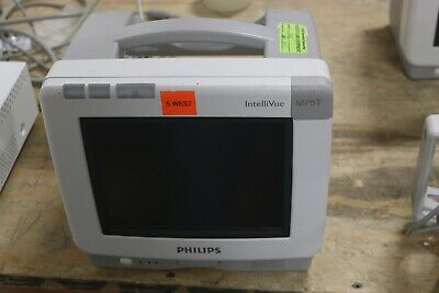 Philips Mp5t Monitor Patient Monitor Working