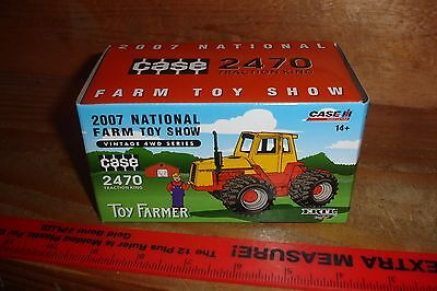 1/64 Case 2470 National Farm Toy Show Tractor - in box