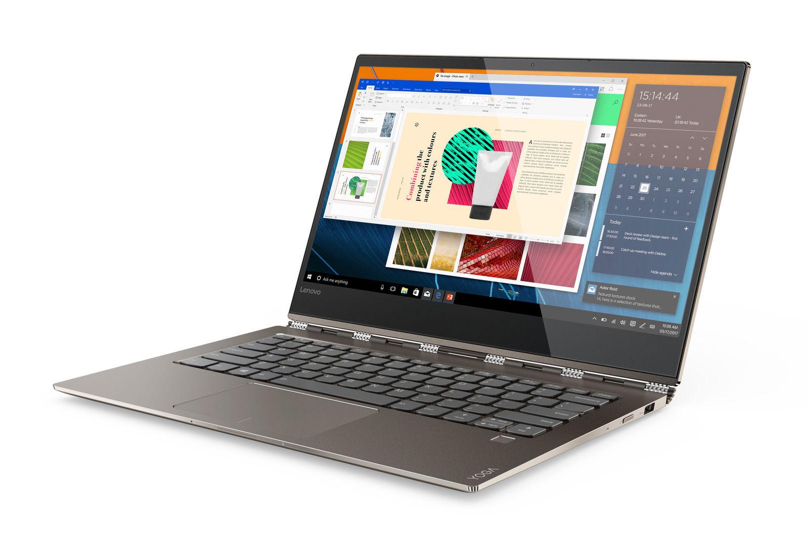 """Lenovo Yoga 920 13.9"""" (256GB, Intel Core i7 8th Gen., 1.80GHz, 8GB) 2 in 1 Conve"""