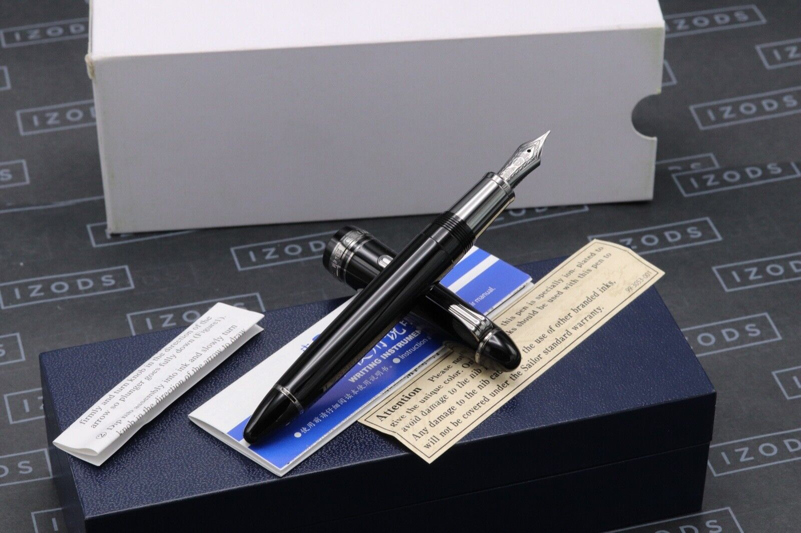 Sailor 1911 Classic Black Luster Fountain Pen