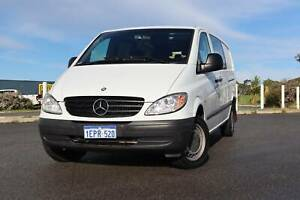 2010 Mercedes-Benz Vito 111CDI Medium Wheel Base  Van/Minivan Yangebup Cockburn Area Preview