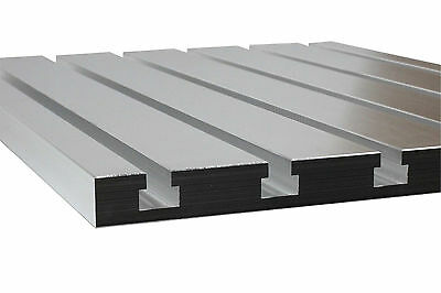 "T-Slot plate 108, T-Slotted fixture table  10""x 8"" made of solid cast aluminum"