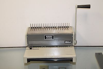 Ibico Kombo Heavy Duty Plastic Comb Binder Binding Booklet Machine 11657