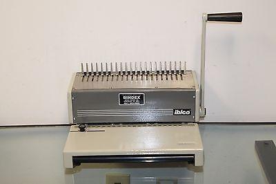 Ibico Kombo Heavy Duty Plastic Comb Binder Binding Booklet Machine 11657