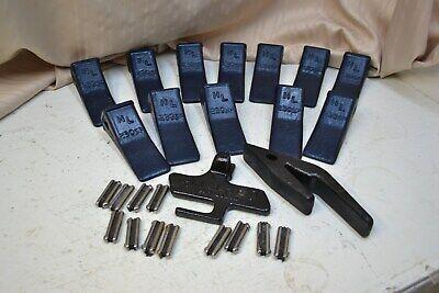 Hl 230sp Bucket Teeth 12 Teeth 12 Keepers 1 Tool 1 Weld On Shank