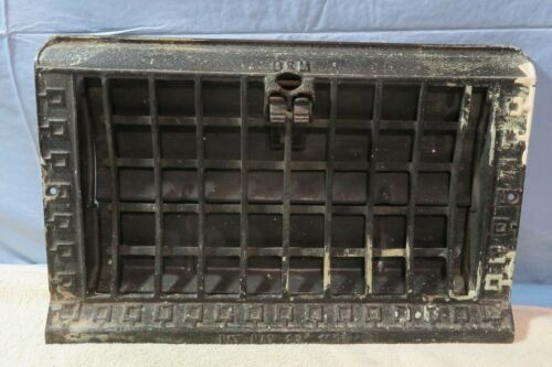 Vintage Register Angled Wall Grate Heat Vent Cover Architectural Salvage