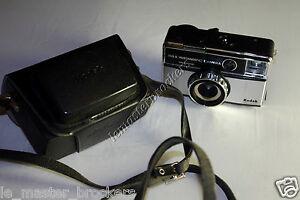 Kodak instamatic 355X avec Etui Ancien appareil photo vintage Camera sales - CHARMES CEDEX, France métropolitaine - État : Occasion : Objet ayant été utilisé. Objet présentant quelques marques d'usure superficielle, entirement opérationnel et fonctionnant correctement. Il peut s'agir d'un modle de démonstration ou d'un obj - CHARMES CEDEX, France métropolitaine