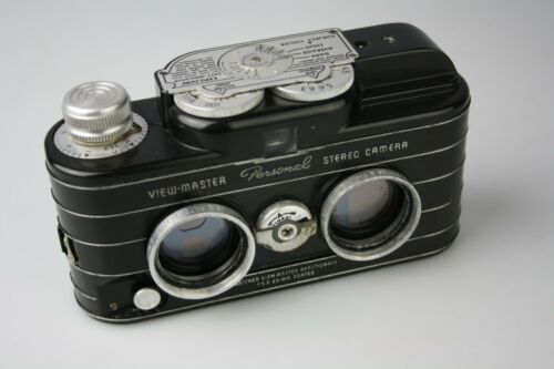 Vintage Sawyer View Master Personal Stereo Camera Black