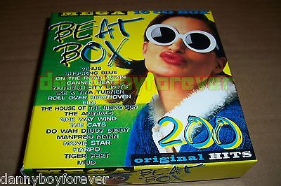 Mega Beat Box 200 Original Hits of 60s 70s 80s 10 CD Set Like You Know What