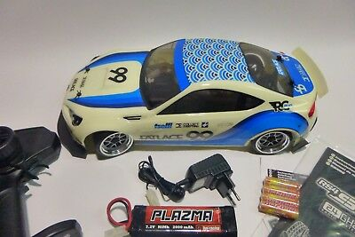 HPI RS4 Sport 3 Drift RTR Subaru BRZ Karosserie 1/10 4WD 2,4GHz #H114356 NEU OVP gebraucht kaufen  Alberstedt