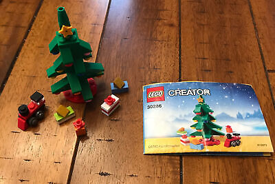 Lego Creator Christmas Tree (30286) Without Original Bag
