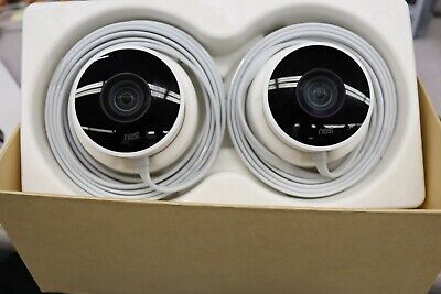Google Nest Cam Outdoor Security Camera 2-Pack (NC2400ES) USED ITEM MINT CONDIT