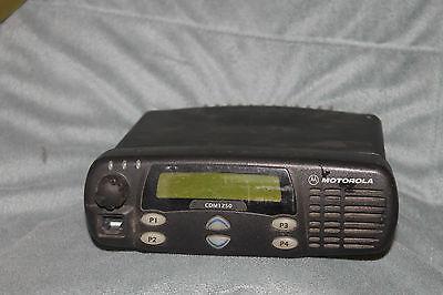 Motorola Cdm1250 Uhf Uhf Band 403 512mz Aam25rhd9aa2an Radio